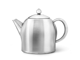 Double walled stainless steel teapots