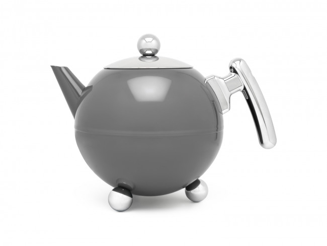 Teapot Bella Ronde 1.2L Cool Grey