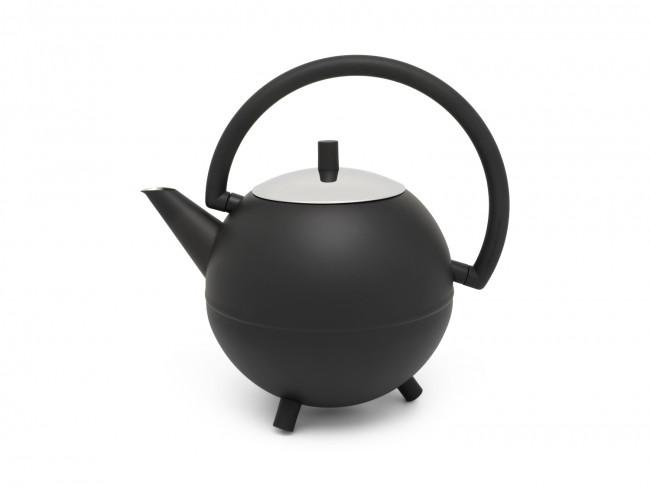 Teapot Duet Design Saturn 1.2L matt black