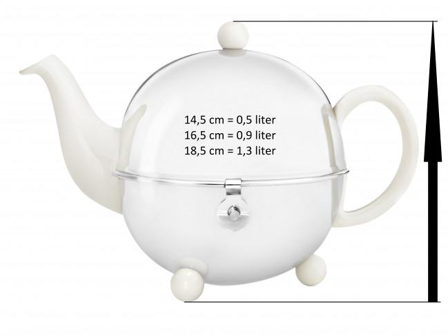 Teapot for Cosy 1302W cream white