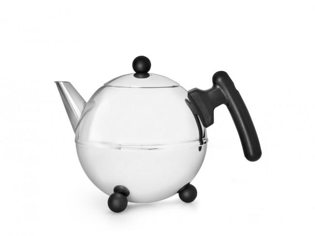 Teapot Bella Ronde 0.75L black fitt.