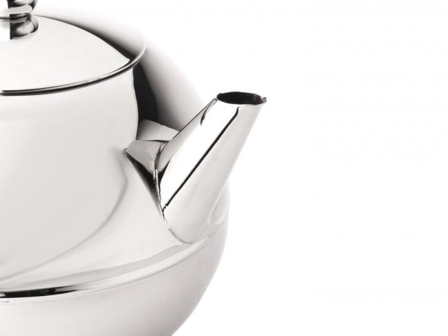 Teapot Bella Ronde 1.2L chrom. fitt.