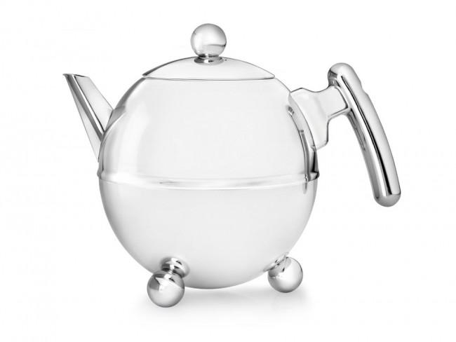 Teapot Bella Ronde 1.5L chrom. fitt.