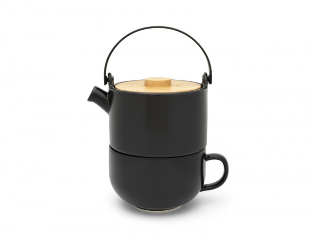 Tea for one Umea black 500 ml