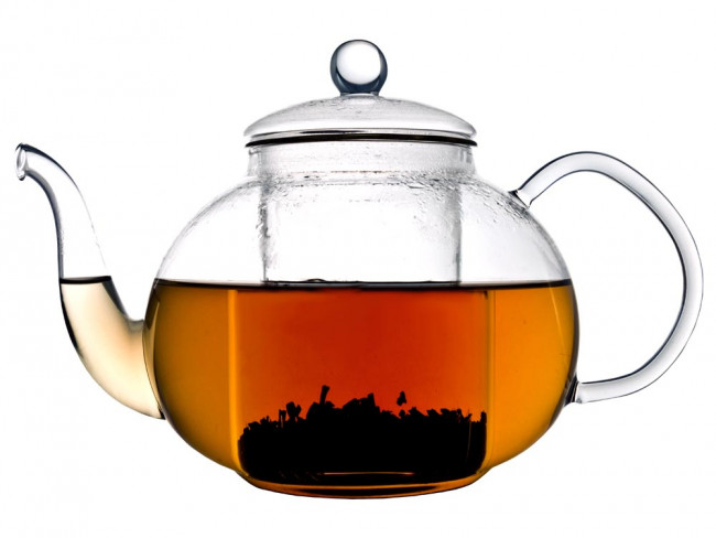 Teapot Verona 1.0L single walled glass