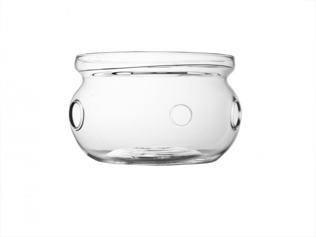 Tea warmer Verona single walled glass