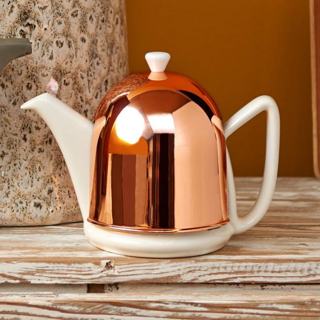 Teapot Cosy Manto Copper/White 1.0L