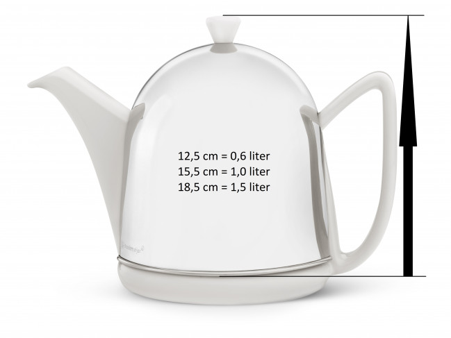 Teapot for Cosy Manto 1510W white