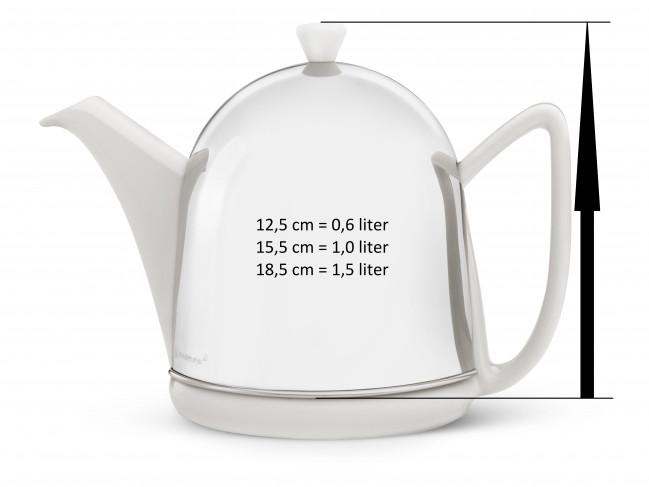 Teapot for Cosy Manto 1505W white