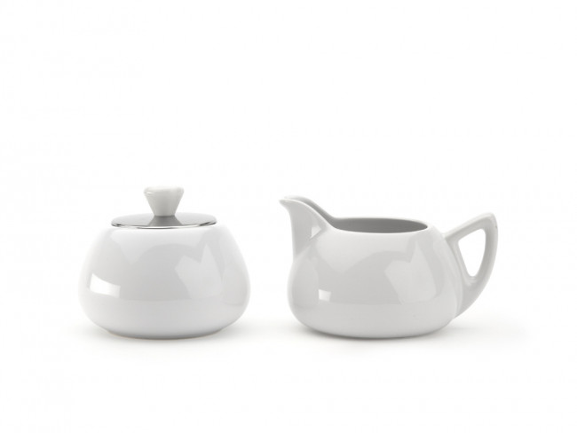 Sugarbowl & Creamer Cosy Manto White