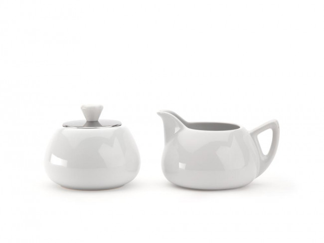 Sugarbowl & Creamer Cosy Manto White