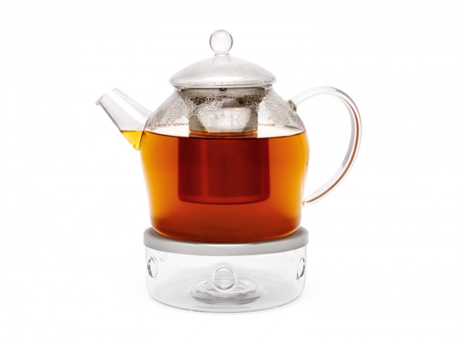 Tea warmer Minuet glass