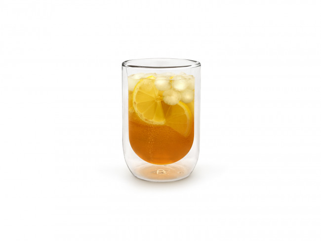 Double walled glass 290ml s/2