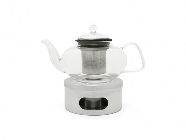 Tea warmer polished