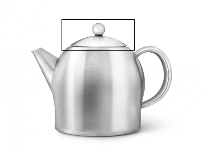 Lid for teapot Minuet® Santhee 3308MS with knob