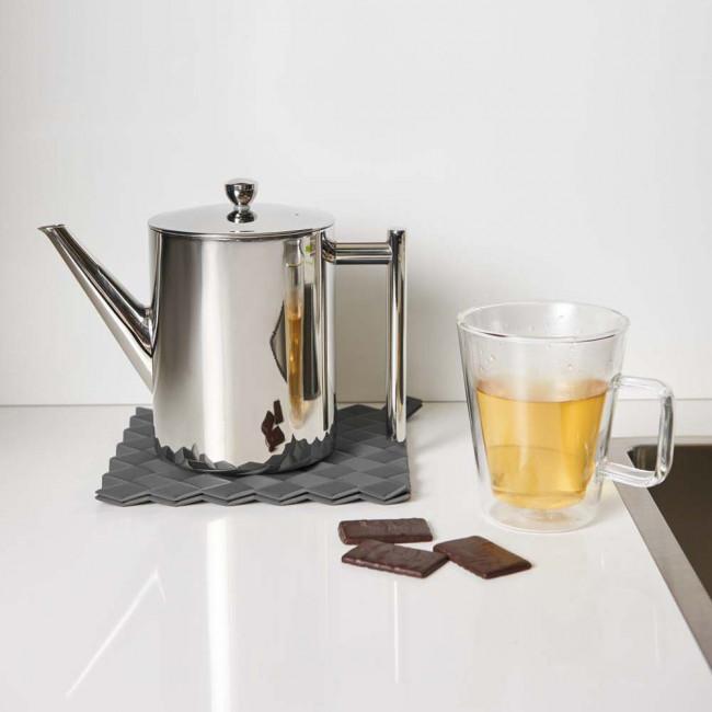 Teapot Minuet Cylindre 1.2L polished