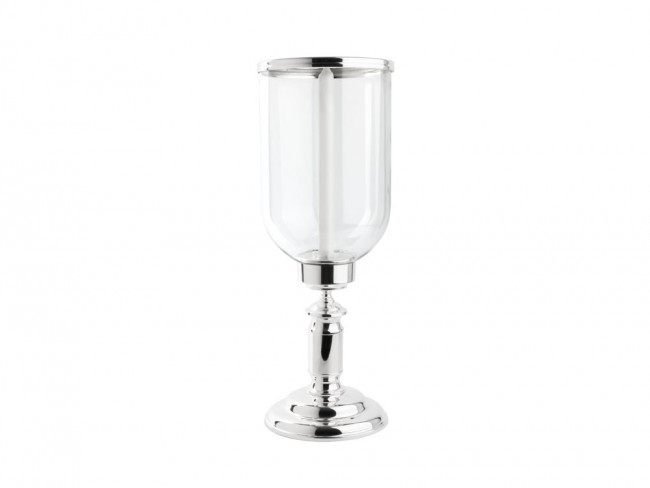 Hurricane lamp Icona glass/sp/l base