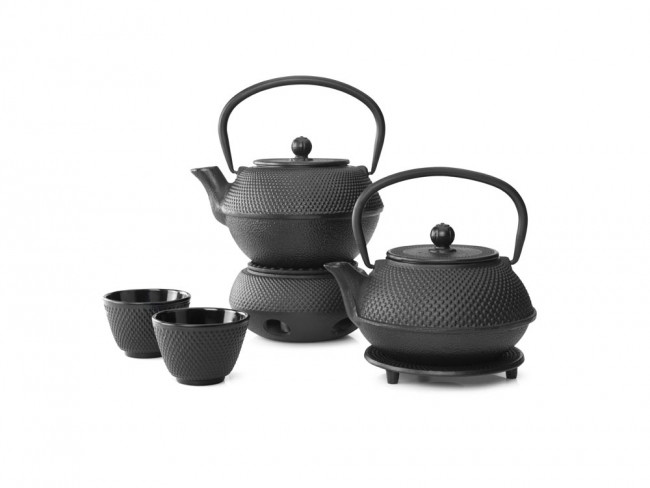 Teapot Jang 0.8L cast iron black