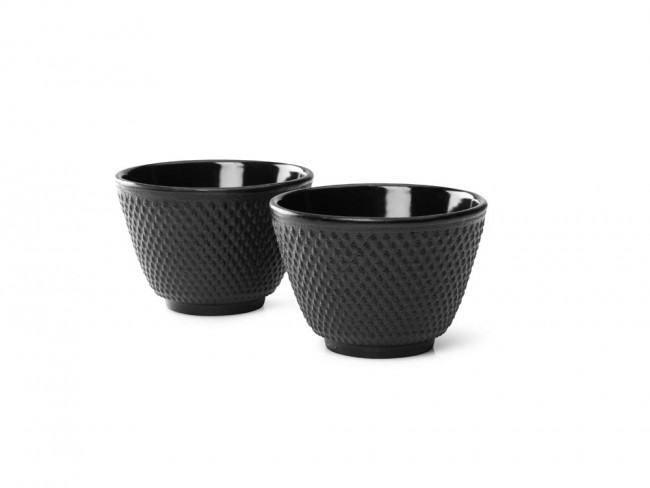 Cups Cast Iron S/2 Jang Black