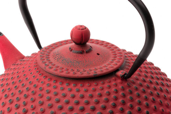 Teapot Cast Iron Xilin 1,25L Red