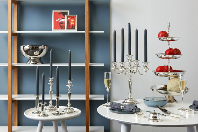 Serving stand Pearl 4-tier 30/25/21/18 sp