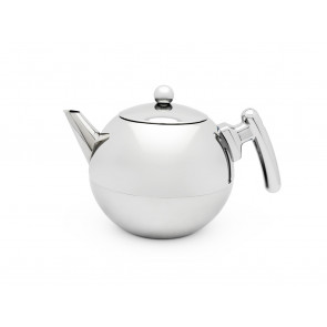 Teapot Duet® Bella Ronde 1.2L, flat bottom, chromium fittings