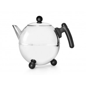 Teapot Bella Ronde 1.5L black fittings