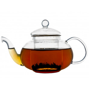 Teapot Verona 0.5L single walled glass