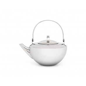Single walled teapot 0,8L mirror finish + infuser