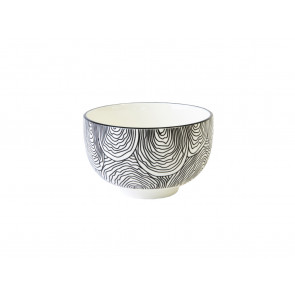 Tea bowl Pucheng 152004 waves / uni