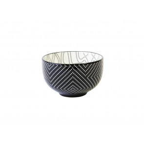 Tea bowl Pucheng 152004 dots / waves
