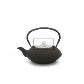 Lid for teapot Yantai 157001 black/brown