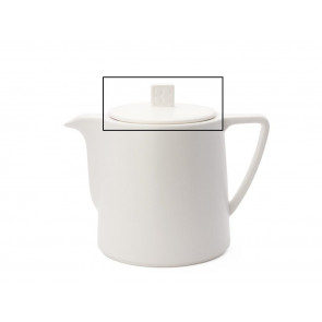 Set: lid and silicon ring for teapot Lund LD001W/LD002W/LD003W white