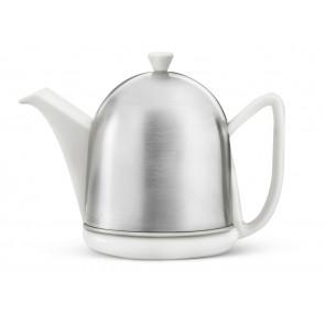 Teapot Cosy Manto White Matt 1.0 liter