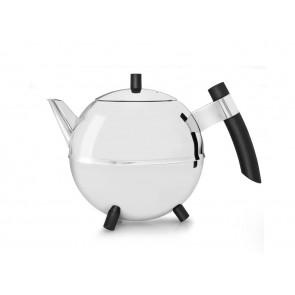 Duet® Design Teekanne Meteor 1,2L schwarze Beschläge
