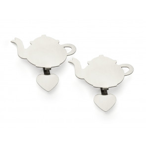 Tea Bag Holder TEAPOT, set of 2