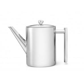 Teapot Minuet Cylindre Metal 1.2 liter