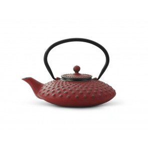 Teapot Cast Iron Xilin 0.8L Red