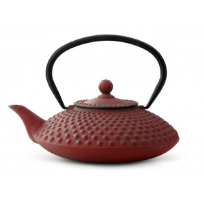 Teapot Xilin 1,25L cast iron red