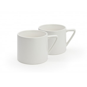 Mugs Lund, white (set of 2)