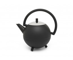 Teapot Duet Design Saturn 1.2L matt black