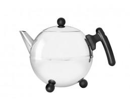 Teapot Bella Ronde 1.2L black fitt.