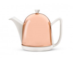 Teapot Cosy Manto 1.0L copper/white
