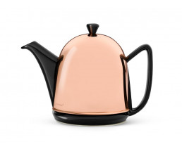 Teapot Cosy Manto Copper Black 1.0 liter