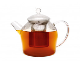Glass Minuet teapot 1.2L  with stainless steel filter