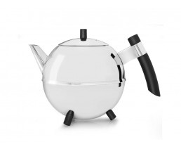 Duet® Design Teapot Meteor, 1.2L, black fittings