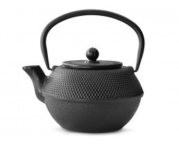 Teapot Cast Iron Jang 1.1L Black