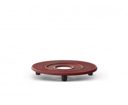 Coaster Cast Iron Xilin Red
