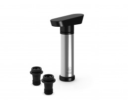 Wine pump Martello with 2 stoppers